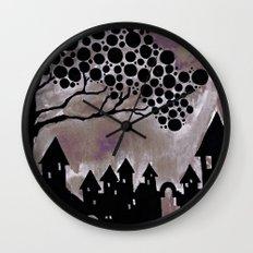 noturne city Wall Clock