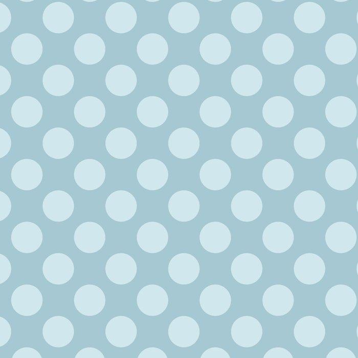 Polka Dots, Spots (Dotted Pattern) - Blue Leggings