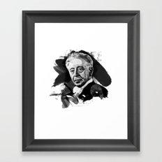 Arthur Rubinstein Framed Art Print