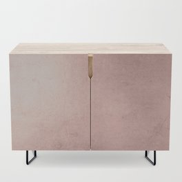 Blush Rose Gold Ombre Credenza