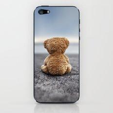 Teddy Blue iPhone & iPod Skin