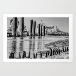 New Haven Art Print