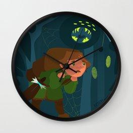 Little Adventurer Wall Clock