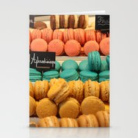 macarons Stationery Cards featuring Macarons by Cristina Cavallari