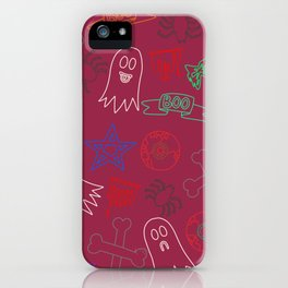 Trick or treat #2 iPhone Case