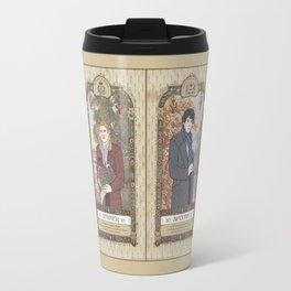 Sherlock Victorian Language of Flowers Four Seasons Travel Mug