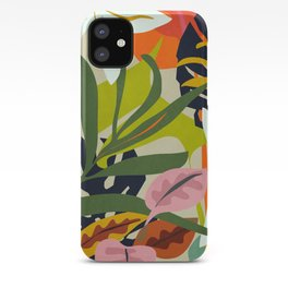 Jungle Abstract 2 iPhone Case