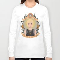 "heymonster Long Sleeve T-shirts featuring Kara ""Starbuck"" Thrace by heymonster"