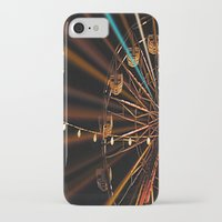 ferris wheel iPhone & iPod Cases featuring Ferris Wheel by Renee Trudell