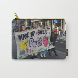 Wake Up And Smell the Pussy - Women's March NYC Carry-All Pouch