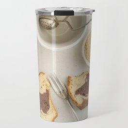 Slice of marble cake Travel Mug
