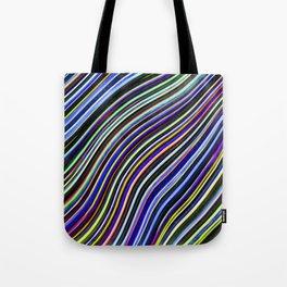 Wild Wavy Lines VIII Tote Bag