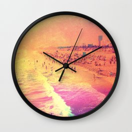 Summer Flame Wall Clock