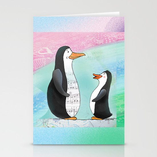 Singing Lesson Stationery Cards