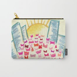 Pink Hats March for Equality Carry-All Pouch