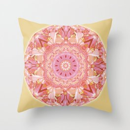 Mandalas for a New Earth 9 Throw Pillow