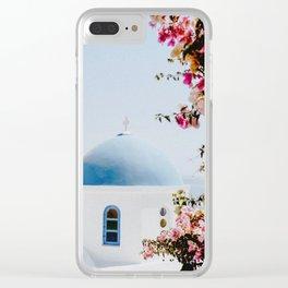 Santorini, Greece Clear iPhone Case
