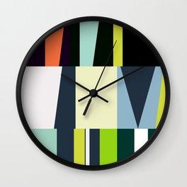 mid century abstract Wall Clock