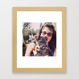 Baby Molly Mow Mow Framed Art Print