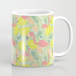 Tropical Flamingos Coffee Mug