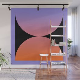 Gradient Abstract V Wall Mural