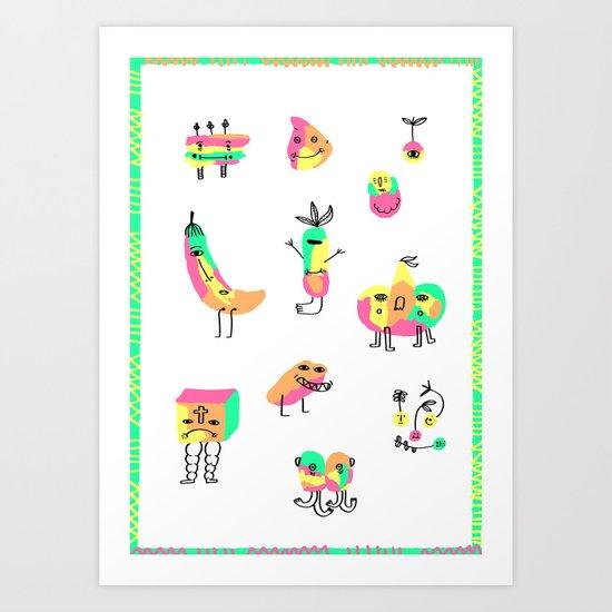 The Strangers Art Print