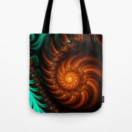 Fractal - She Sells Sea Shells Tote Bag