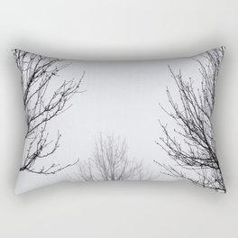 Foggy Days! Rectangular Pillow