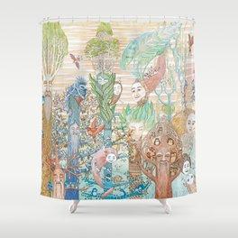 Forest Spirits Shower Curtain