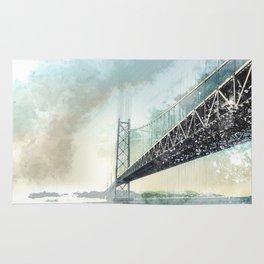 San Francisco - Bay Bridge Rug