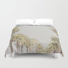 palm trees ... Duvet Cover