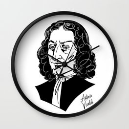 Antonio Vivaldi Wall Clock