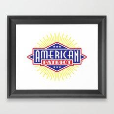 American Patriot Framed Art Print