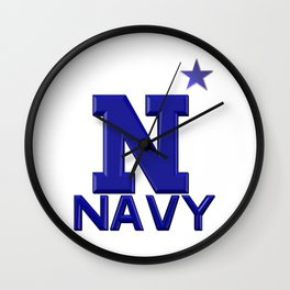 Navy! Wall Clock