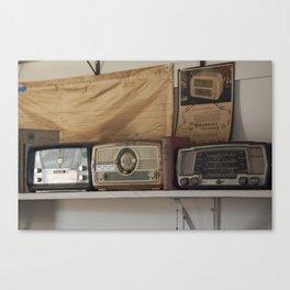 Radio Shack Canvas Print