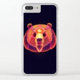 Fantasy Bear Clear iPhone Case