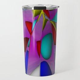 crackled -1- Travel Mug