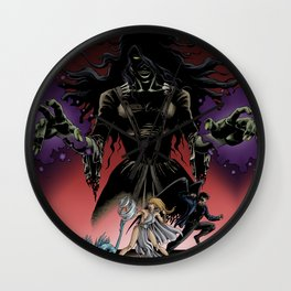 Monsters Among Us: A War of Witches Cover Wall Clock