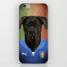 Worldcup 2014 : Italy - Cane Corso iPhone Skin