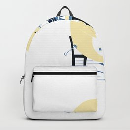 From Hell's heart, I stab at thee Backpack