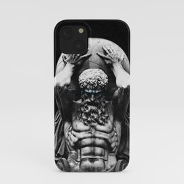 Hercules holding the whole world iPhone Case
