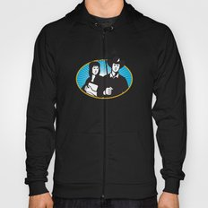 cowboy and girl holding aerial outdoor antennae Hoody
