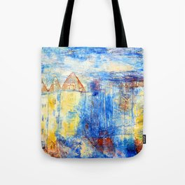 Paul Klee View of a Square Tote Bag