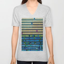 Color Flips Unisex V-Neck