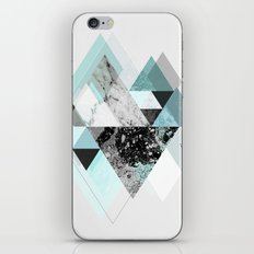 Graphic 110 (Turquoise Version) iPhone & iPod Skin