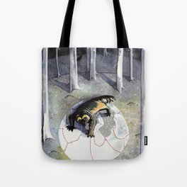 Wolverin Tote Bag