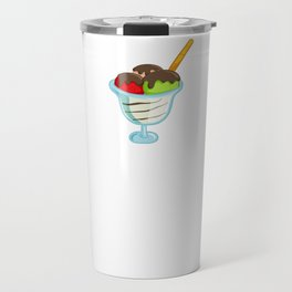Sundaeologist Ice Cream Fan Foodie Summertime Travel Mug