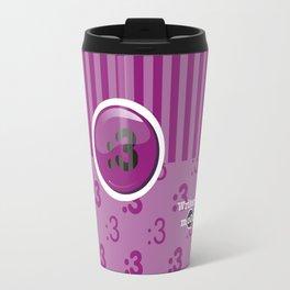Purple Writer's Mood Travel Mug