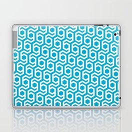 Modern Hive Geometric Repeat Pattern Laptop & iPad Skin