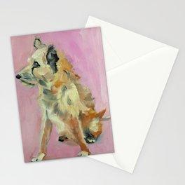 Marvelous Mystery Mutt Dog Portrait Stationery Cards